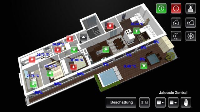 smarthomedesign projekte. Black Bedroom Furniture Sets. Home Design Ideas